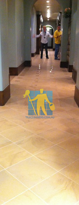 traditional entry with large porcelain tiles were laid in a basketweave pattern Nudgee
