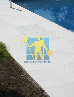 outdoor sandstone tile pool paving snow white Nudgee
